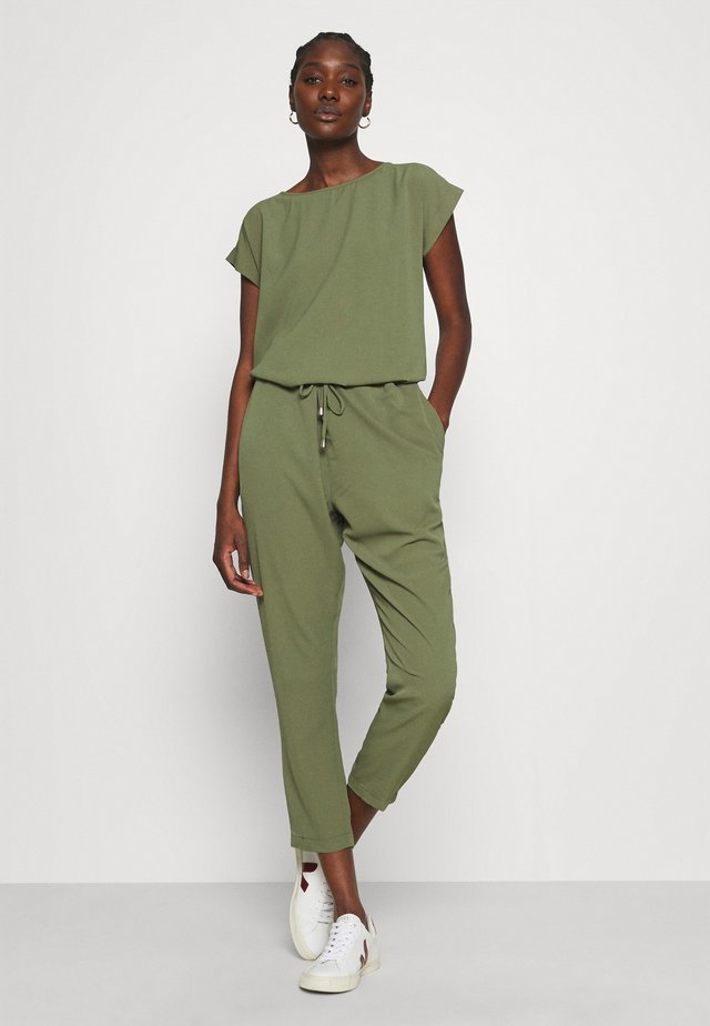 RECINA SOLID - Jumpsuit - army