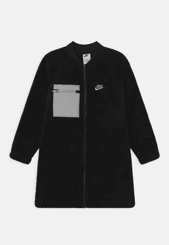WINTERIZED - Fleece jacket - black/smoke grey