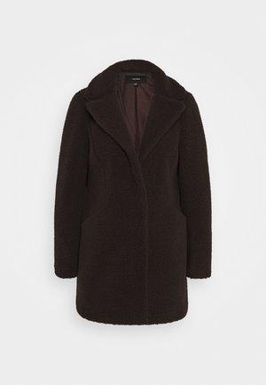 VMDONNA - Zimní kabát - chocolate plum