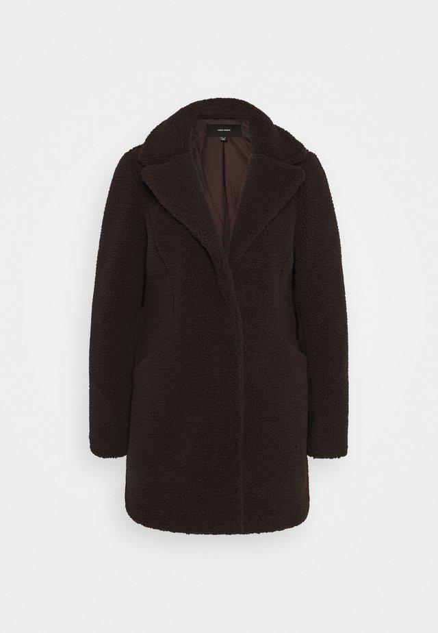 VMDONNA - Winter coat - chocolate plum