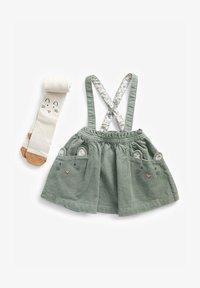 Next - A-line skirt - green - 0