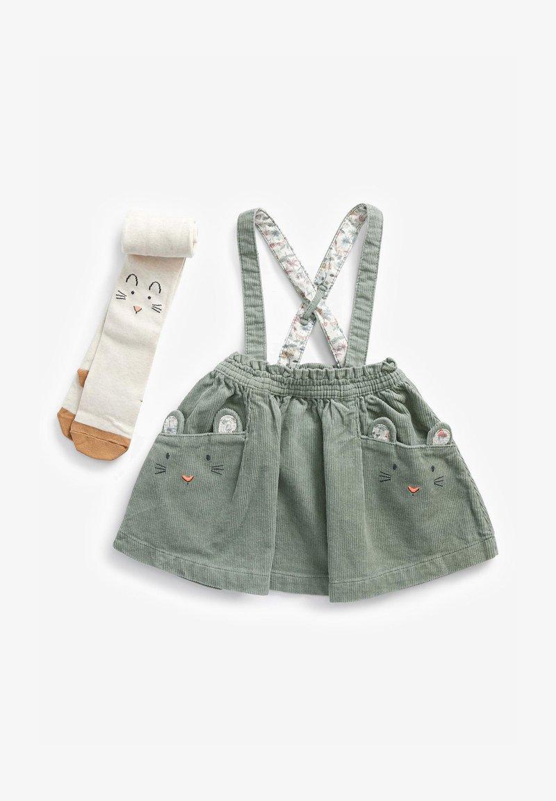 Next - A-line skirt - green