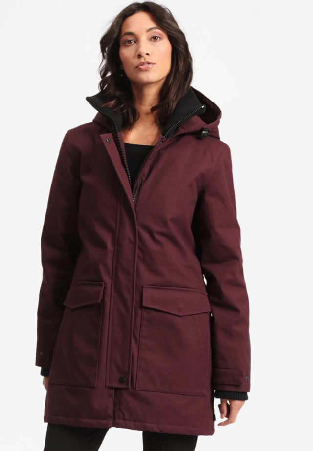 ANIAK - Parka - plum