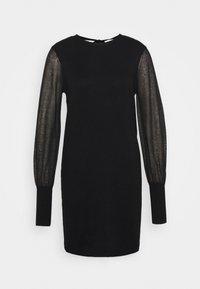 VMBELLISSIMO U-BACK DRESS - Jumper dress - black