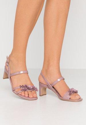 Sandalen - mauve