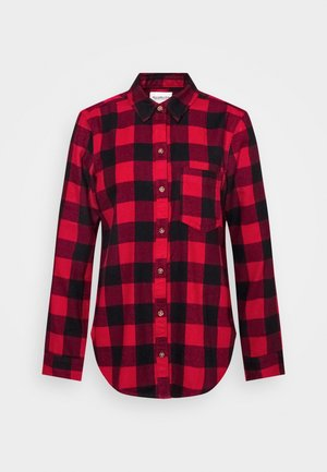HOLIDAY - Button-down blouse - red buff