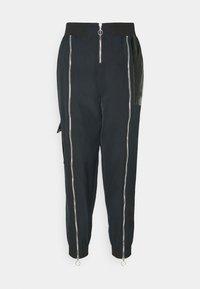 Nike Sportswear - Pantalones deportivos - black/dark smoke grey - 3