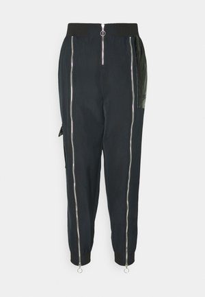 Pantaloni sportivi - black/dark smoke grey
