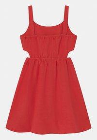 Lemon Beret - TEEN GIRLS - Day dress - tomato puree - 1