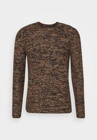 ONSCAM CREW NECK - Svetr - brown