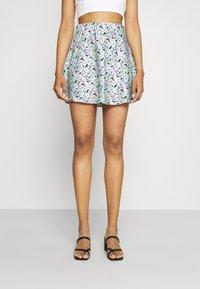 Gina Tricot - JANE SKIRT - Mini skirt - multi-coloured - 0