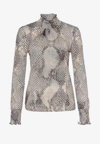 Marc Aurel - Button-down blouse - light sand varied - 4