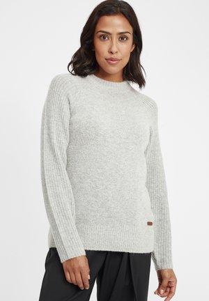 GIANNA - Pullover - light grey melange