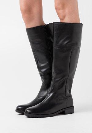 XL - Boots - schwarz