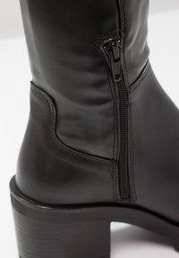 Felmini - COSMOS - Overknee laarzen - wonderfull black - 6
