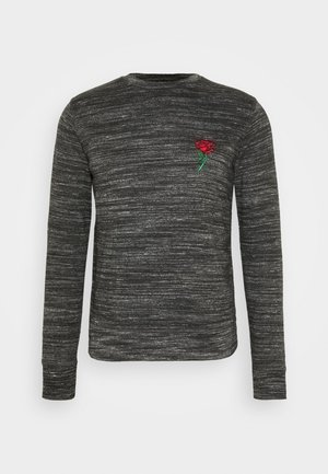 CASPIAN - Sweatshirt - black/ecru