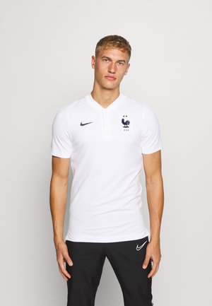 FRANKREICH FFF MODERN - National team wear - white/dark obsidian