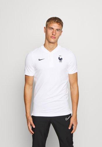 FRANKREICH FFF MODERN - Oblečení národního týmu - white/dark obsidian
