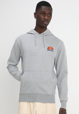 Hoodie - athletic grey marl