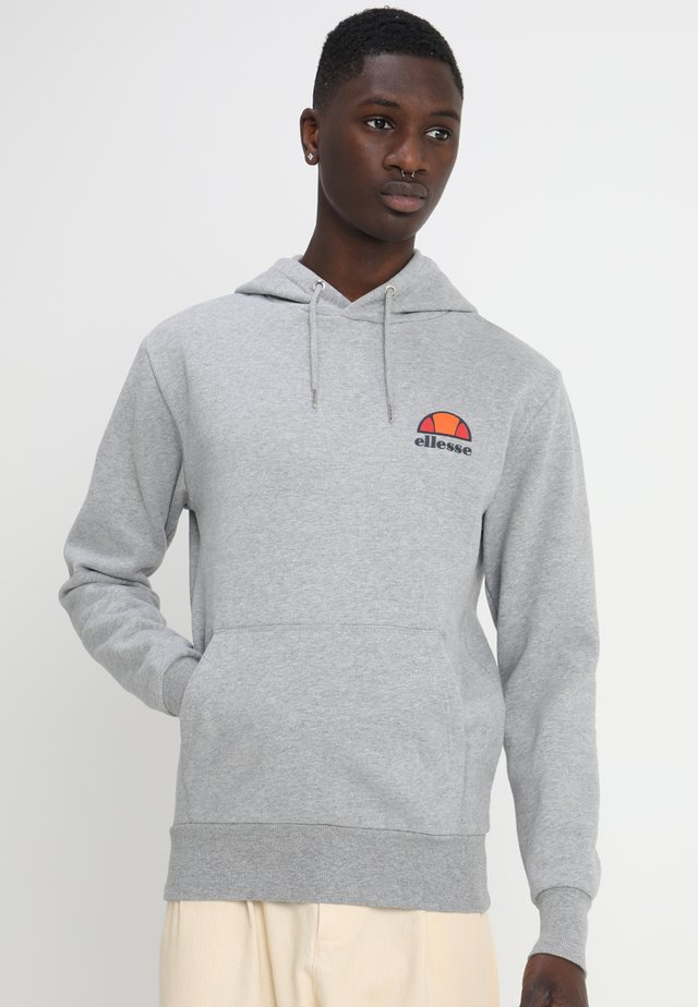 Mikina s kapucí - athletic grey marl