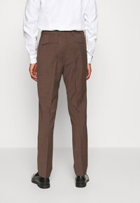 Calvin Klein Tailored - TROPICAL STRETCH SUIT - Suit - brown - 6