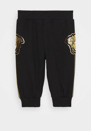 BOTTOM FELPA UNISEX - Trousers - nero
