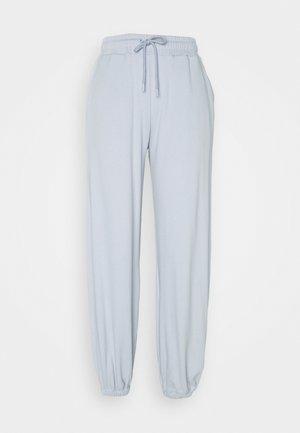 HIGH WAIST JOGGERS - Teplákové kalhoty - light blue