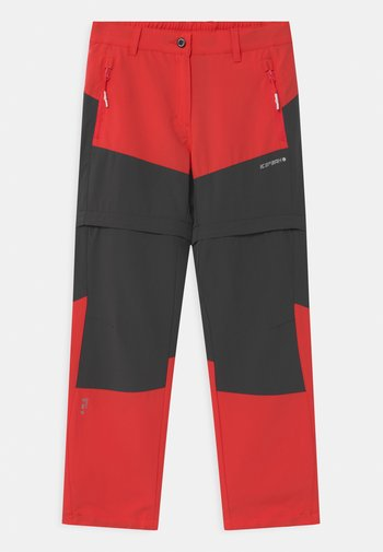 KANO 2-IN-1 UNISEX - Outdoor trousers - pink/grey