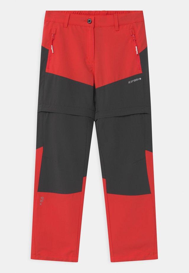 KANO 2-IN-1 UNISEX - Pantaloni outdoor - pink/grey
