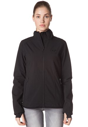 CLASSIC BEE WOMENS SOFTSHELL - Soft shell jacket - black