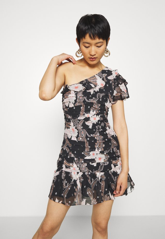 CALLIOPE MINI DRESS - Sukienka koktajlowa - black