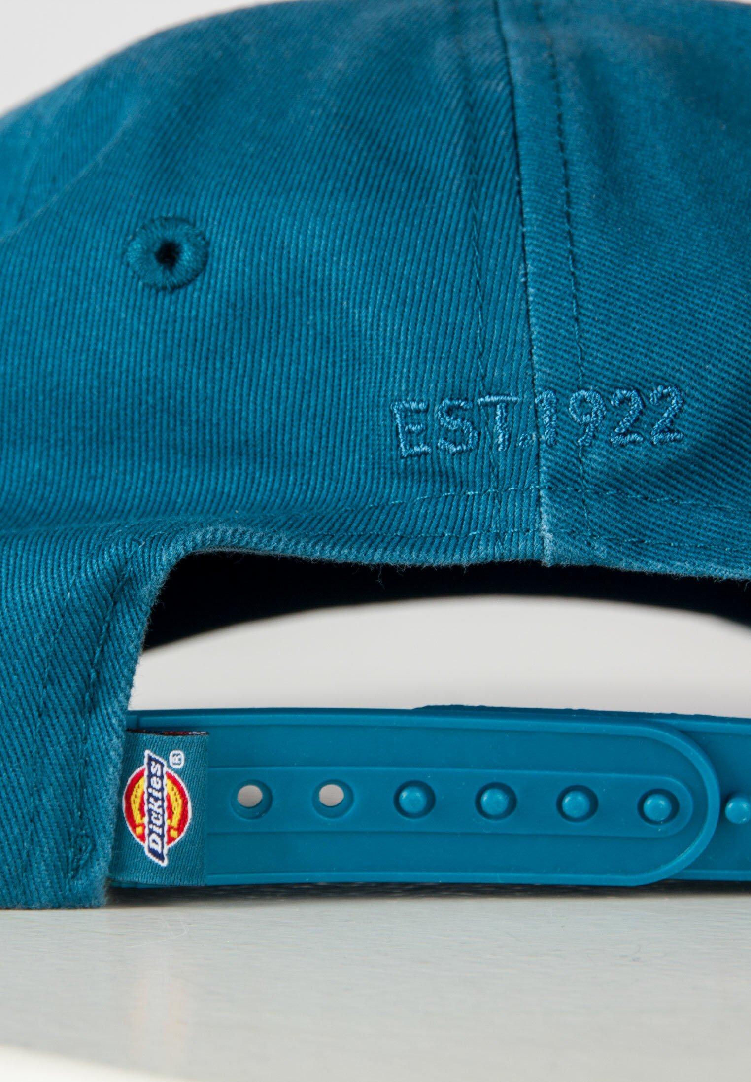 Dickies Hardwick 6 Panel Logo - Cap Coral Blue/blau