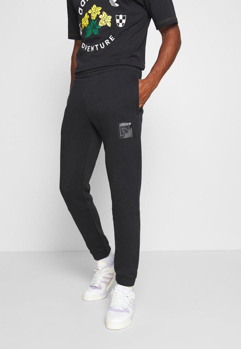 adidas Originals - ICON  - Tracksuit bottoms - black