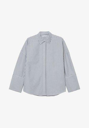 Overhemdblouse - blue stripe
