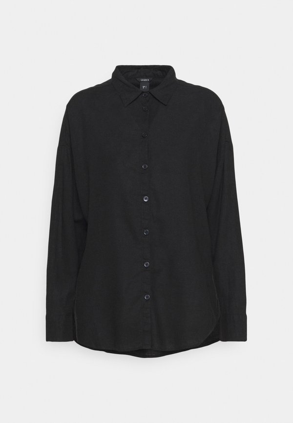 Lindex LINA - Koszula - black/czarny ZXUX