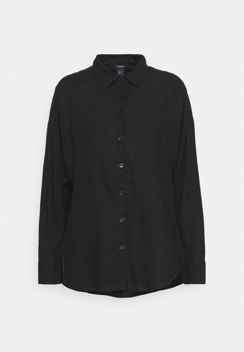 Lindex - LINA - Skjorta - black