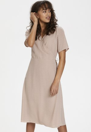 KAAMALIA DRESS - Day dress - roebuck/chalk grafic print