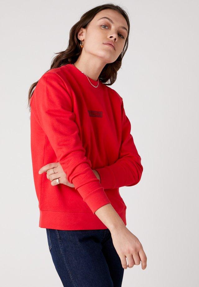 Bluza - lollipop red