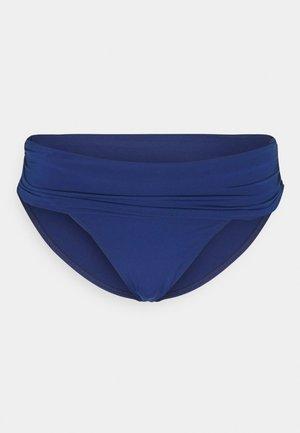 BEACH CLUB SHIRRED - Bikini bottoms - blue