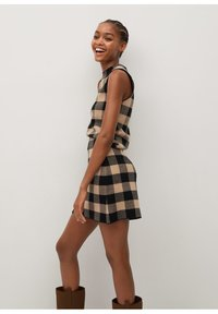 Mango - SCARLATA - A-line skirt - marron moyen - 3