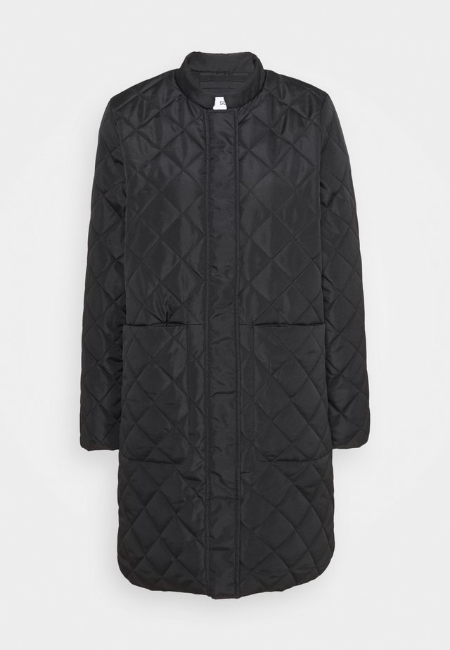 SLFFILLIPA QUILTED COAT - Bomber bunda - black