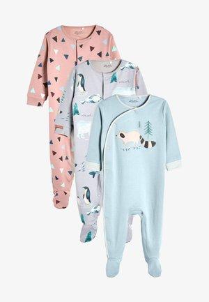 3 PACK - Sleep suit - blue