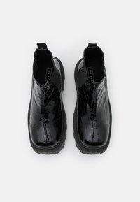 Topshop - KYLIE CHELSEA SQUARE TOE BOOT - Platform ankle boots - black - 5