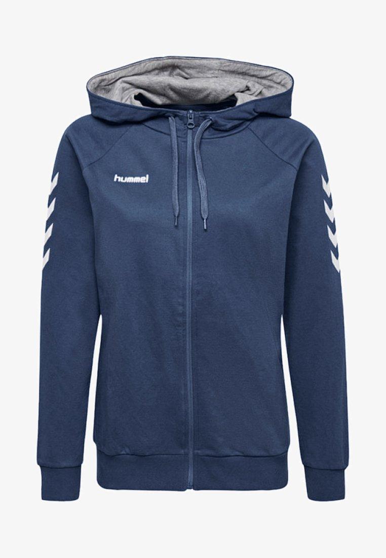 Hummel - HMLGO - Zip-up sweatshirt - true blue