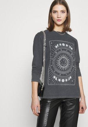 AGNES  - Long sleeved top - black