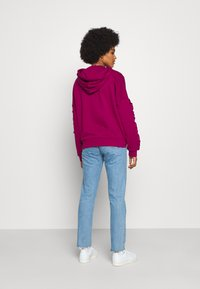 adidas Originals - BELLISTA SPORTS INSPIRED HOODED  - Hoodie - power berry - 2