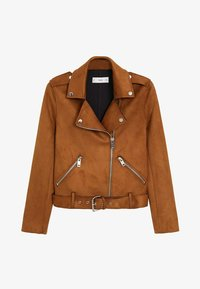 Mango - SEUL-I - Faux leather jacket - braun - 5