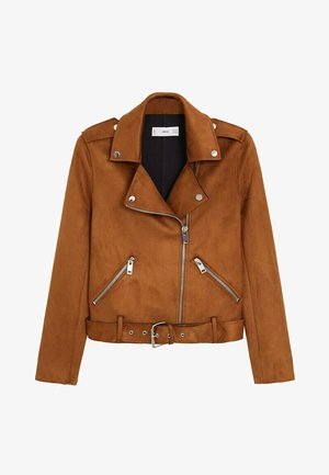 SEUL-I - Faux leather jacket - braun