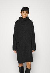 ARKET - DRESS - Jumper dress - dark grey - 0