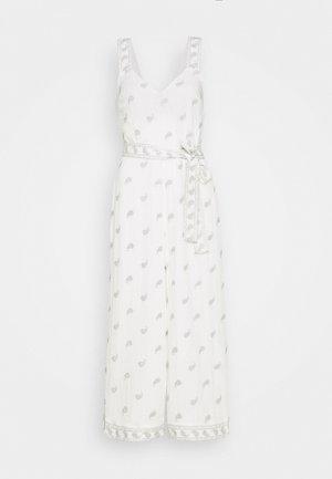 LILOU - Combinaison - white pearl paisley